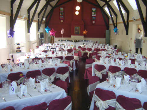 Hall used for Wedding
